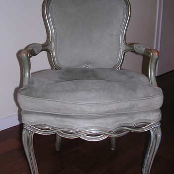 Antique Head and Foot Chair - Furniture
