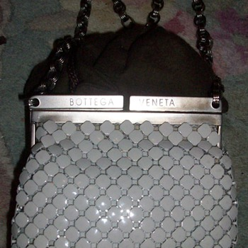 Vintage Metal Bottega Veneta Purse - Accessories