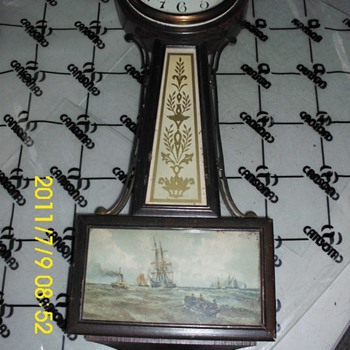 New Haven Banjo Clock - Clocks