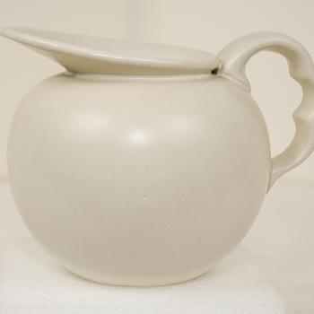 Matt White Creamer?  - Pottery