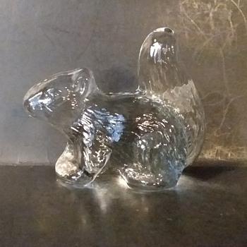 Viking Art Glass squirrel - Animals