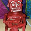 Hubley Robert The Robot Cast Iron Bank