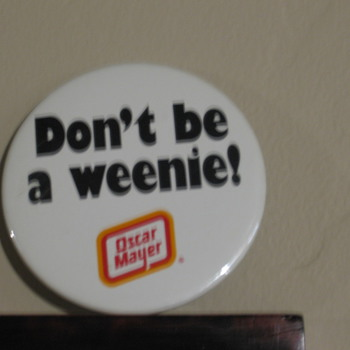 Oscar Mayer pin - Advertising