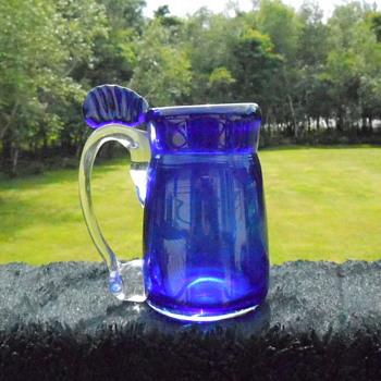 Art Glass Tankard