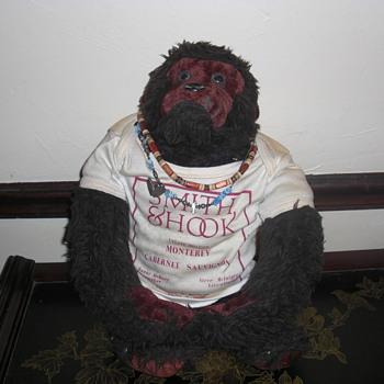 old stuffed monkey - Animals
