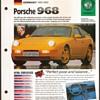 Hot Cars Card - Porsche 968