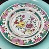 Pre-Bencharong Porcelain Plate - 18th c - for the Thai Market