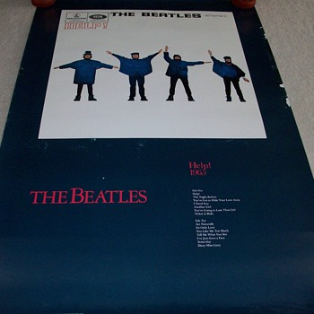 The Beatles Help Promotional Poster - Posters and Prints