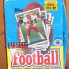 Another Store display box -1989 Topps football cards