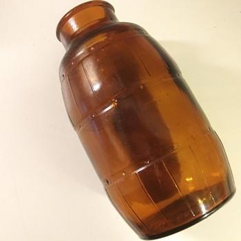 SMALL BROWN BOTTLE - Bottles