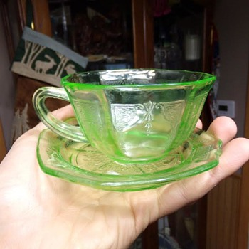 Thrift Store Depression Glass? - Glassware