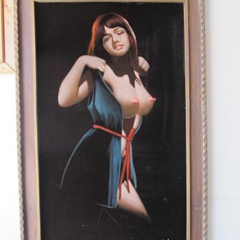 My Velvet Velvet Painting from the Club Algiers on Mission St.  - Fine Art