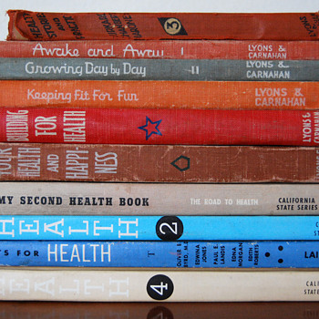 Vintage School Health Books - Books