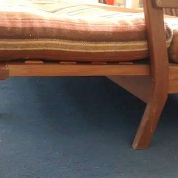 Scandinavian retro sofa bed and chairs help with manufacturer please - Furniture