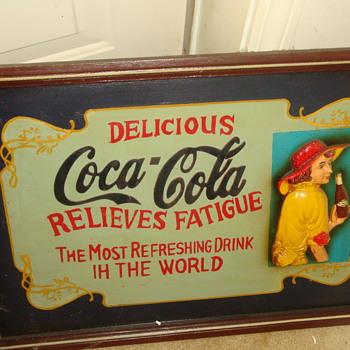 COKE -COLA SIGN - Coca-Cola