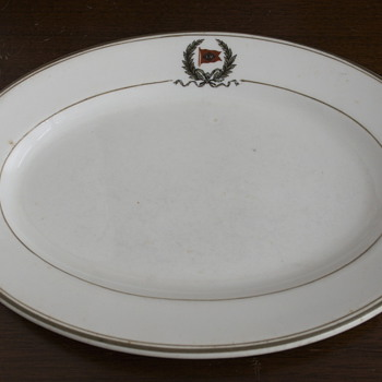 Lehigh Valley Dining Car Platter - Railroadiana