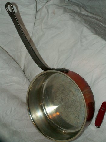 Baumalu Copper Straight Side Saute Pan Collectors Weekly