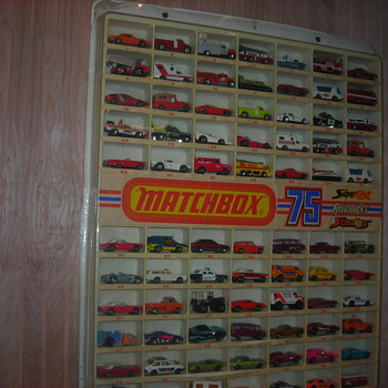 The Matchbox Transitional cars like this case advertised are coming into their own now... - Model Cars