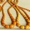 Butterscotch bakelite necklaces