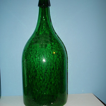 Can anyone tell me if this is a mineral spring bottle? Thanks. - Bottles