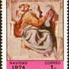 """1974 - Nicaragua """"Christmas"""" Postage Stamps"""