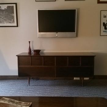 Dresser to mid century Credenza - Mid-Century Modern