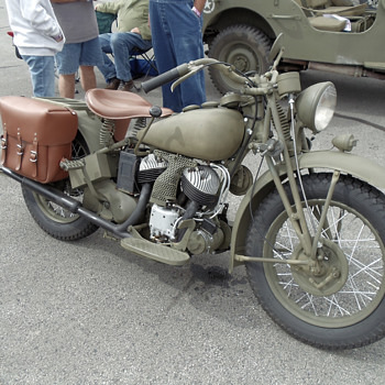 Indian USA WWII Motorcycle - Motorcycles