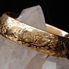 Edwardian GF bracelet, engraved for Ester M. Jaebker