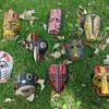 Guatamalan animal dance masks