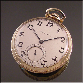 Dudley Model #3 Masonic Pocket Watch  - Pocket Watches