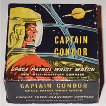 Captain Condor watch box - Comic Books