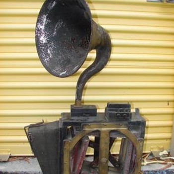 Early maritime fog/signal horn - Tools and Hardware