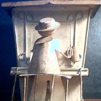 Tin Bank - Folk Art