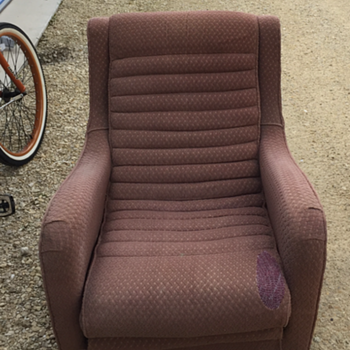 Mid century reclining type club chair - Furniture