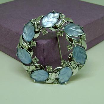 Trifari Wreath - Costume Jewelry