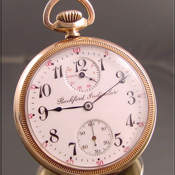 Very Scarce 21-Jewel, Rockford Pocket Watch - Pocket Watches
