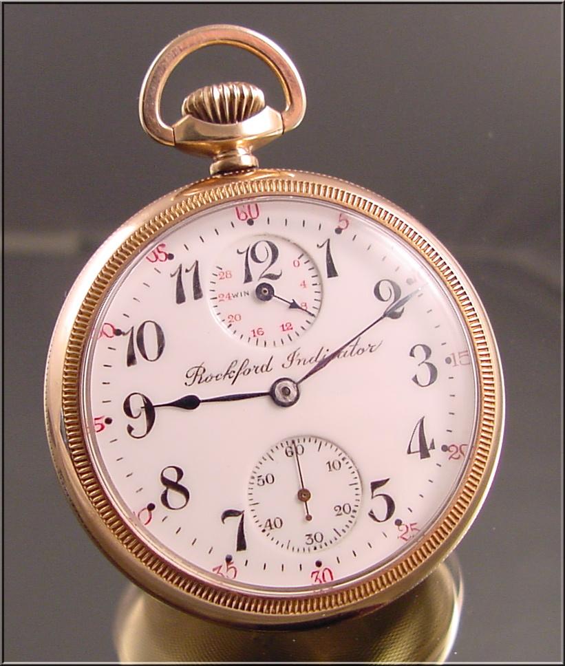 86cdee85fd200 Very Scarce 21-Jewel, Rockford Pocket Watch | Collectors Weekly