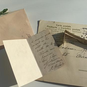 My mystery postcard - Postcards
