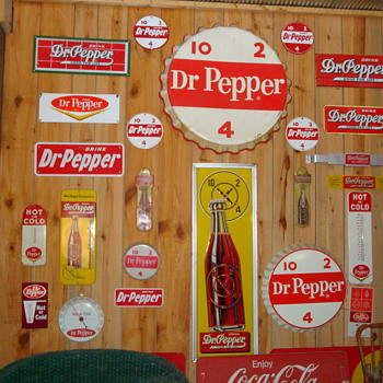 Dr. Pepper any one - Signs