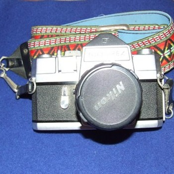 Vintage Camera - Nikon Nikkorex F  - Cameras