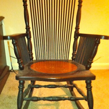 My Grandmother's Rocking Chair. - Furniture