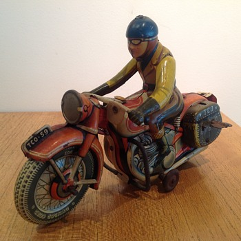 Tippco, Motorrad TCO 59 - Motorcycles