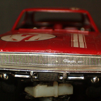 ELDON 1/32 DODGE CHARGER RED