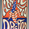 """The New American Dream"" poster by Moon Breetwor, 1967"