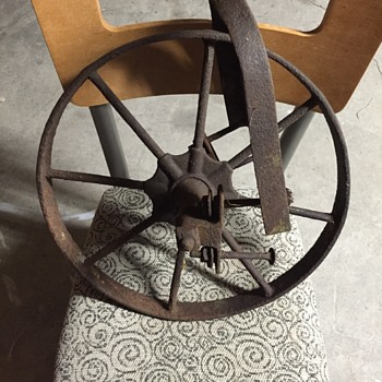 Unknown metal wheel thing. - Tools and Hardware