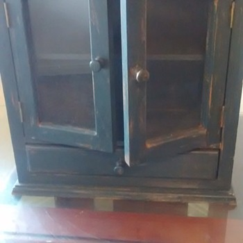 Sweet Haunted Cabinet 1940's or 50's American