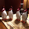 Cast Iron Penguins With Scarves