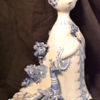 BJORN WIINBLAD PEACOCK LADY- 1959 - Pottery