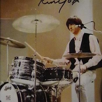 Ringo Starr Autographed Photo - Photographs