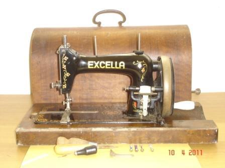 Haid Neu Hand Crank German Sewing Machine Collectors Weekly Amazing Gamages Sewing Machine